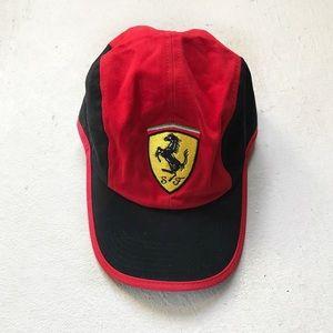 Ferrari red classic baseball hat